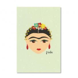 Carte Frida Kahlo @bonjourbibiche