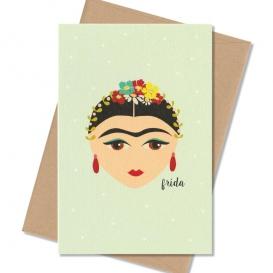 Carte postale Frida Kahlo @bonjourbibiche