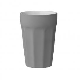 Caroline Mug, Grey, Rubbercoated Ø8,7xH12,5 cm 380 ml Bloomingville @bonjourbibiche