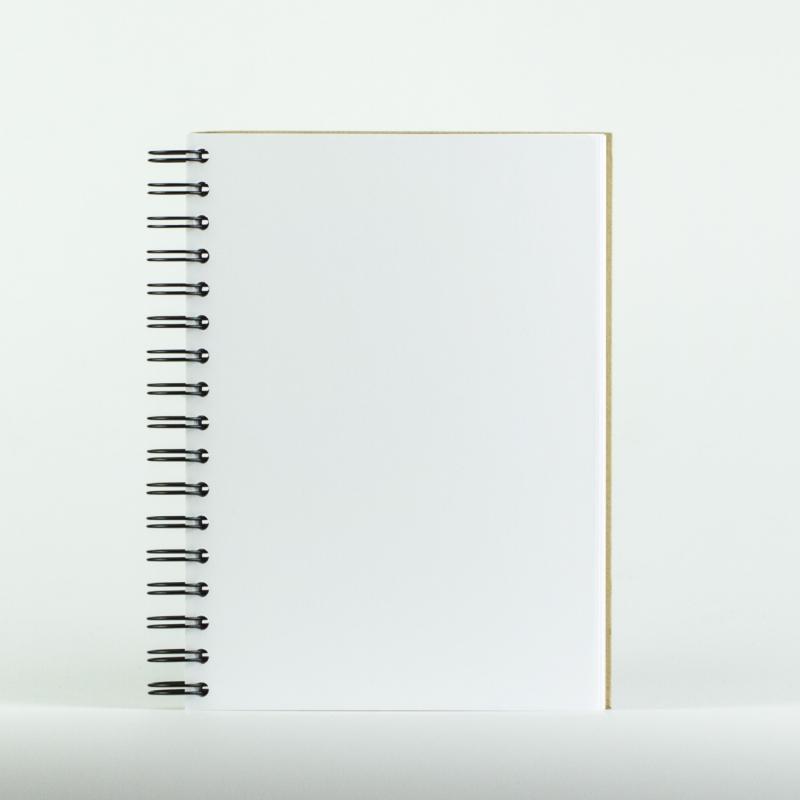 Photo Page: Cahier à Spirale