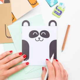 Carte anniversaire Panda @bonjourbibiche