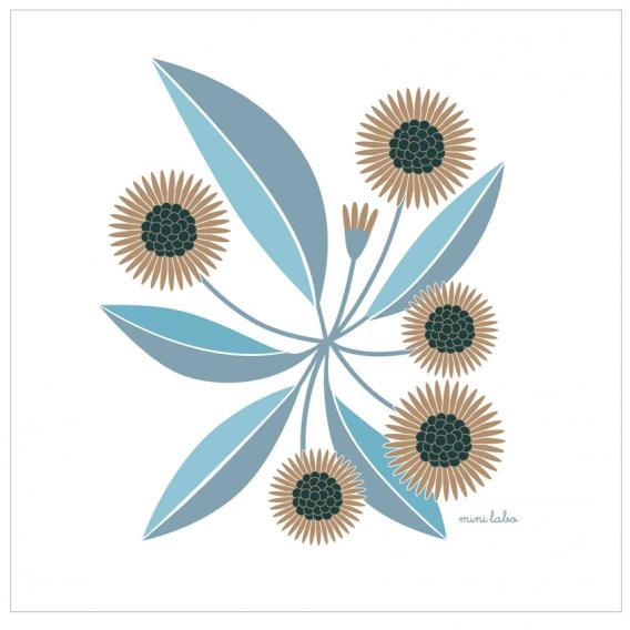 Affiche Fleurs @bonjourbibiche