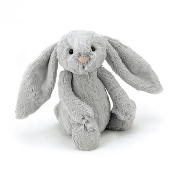 Peluche lapin gris 18 cm Jellycat @BonjourBibiche