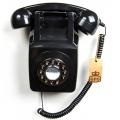 Téléphone mural rétro
