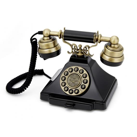 Téléphone vintage compatible adsl @bonjourbibiche