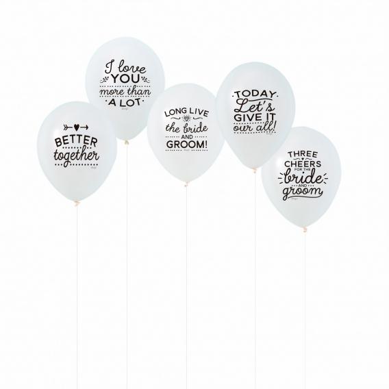 Ballon gonflable mariage @bonjourbibiche