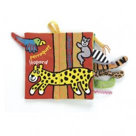 Livre enfant Coucou jungle Jellycat @BonjourBibiche