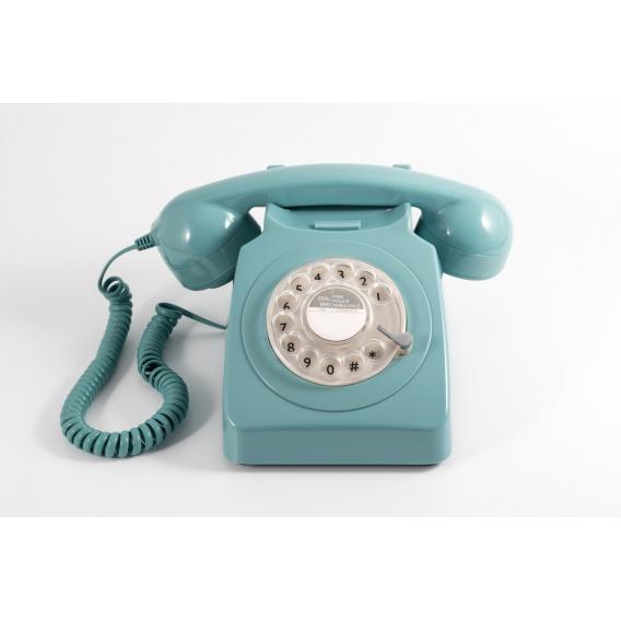 Téléphone bleu ciel @bonjourbibiche