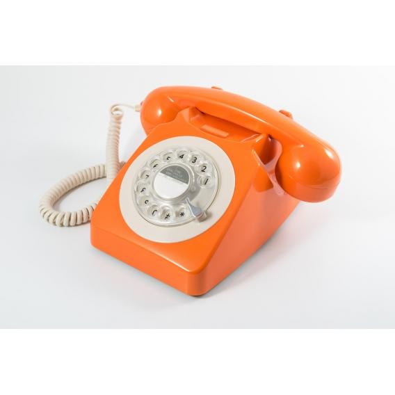 Telephone orange @bonjourbibiche