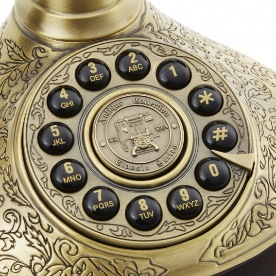 Telephone doré @bonjourbibiche