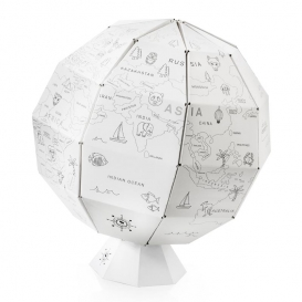 Globe terrestre en papier @bonjourbibiche
