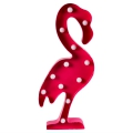 Flamant rose LED