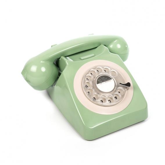 Le téléphone à cadran en couleur @bonjourbibiche
