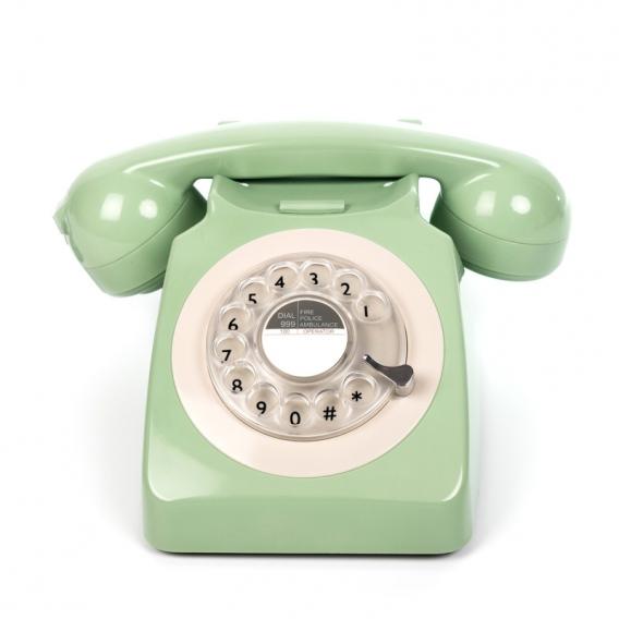 Téléphone vert @bonjourbibiche