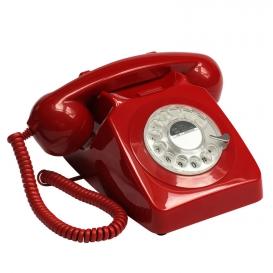 TELEPHONE RETRO ROUGE @bonjourbibiche
