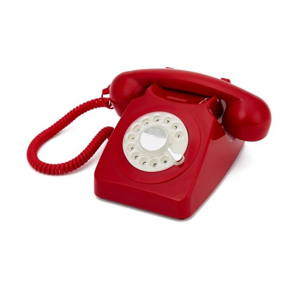 TELEPHONE ROUGE VINTAGE @bonjourbibiche