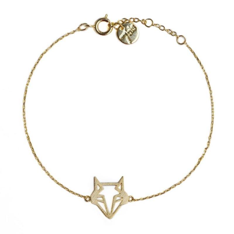 nouvelle collection c0874 75c2b Bracelet Renard Origami | Bijoux 7bis