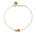 Bracelet Ananas doré