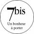 Logo marque bijoux 7bis @bonjourbibiche
