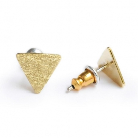 Boucle d'oreille Triangle @bonjourbibiche