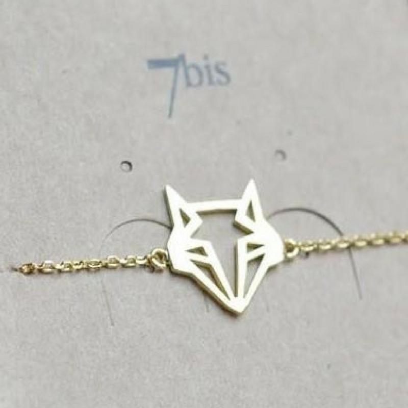 bracelet renard origami bijoux 7bis