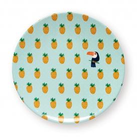 Assiette ananas @bonjourbibiche