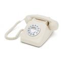 Téléphone vintage blanc