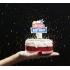 Décoration de gâteau d'anniversaire @bonjourbibiche
