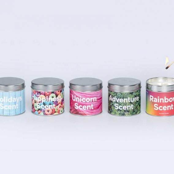 Des bougies parfumées @bonjourbibiche