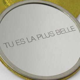 Miroir de poche @bonjourbibiche