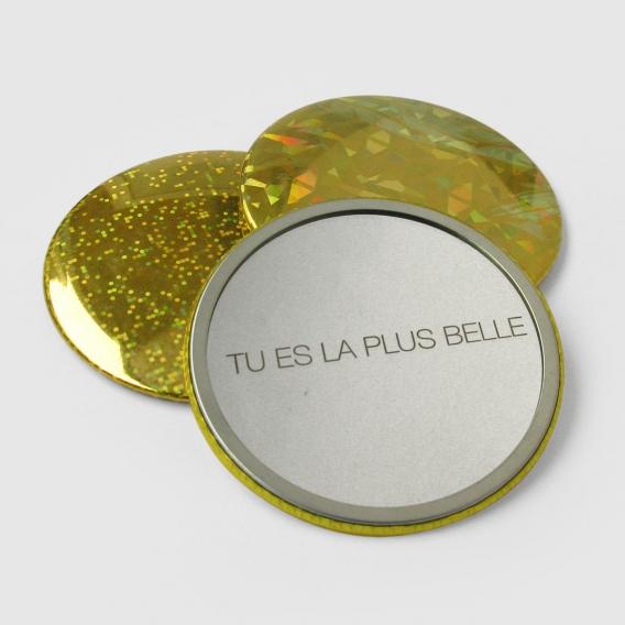 Miroir de poche de luxe @bonjourbibiche