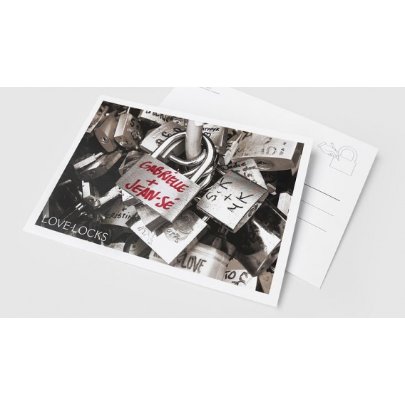 Carte postale Amour @bonjourbibiche