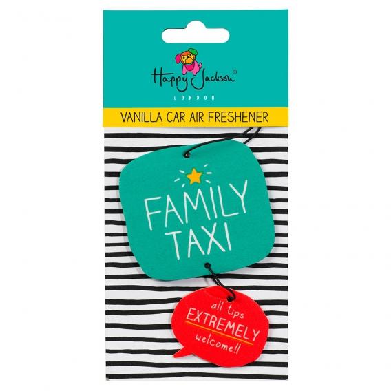 Désodorisant original pour voiture famille nombreuse Family Taxi Wild and Wolf @bonjourbibiche