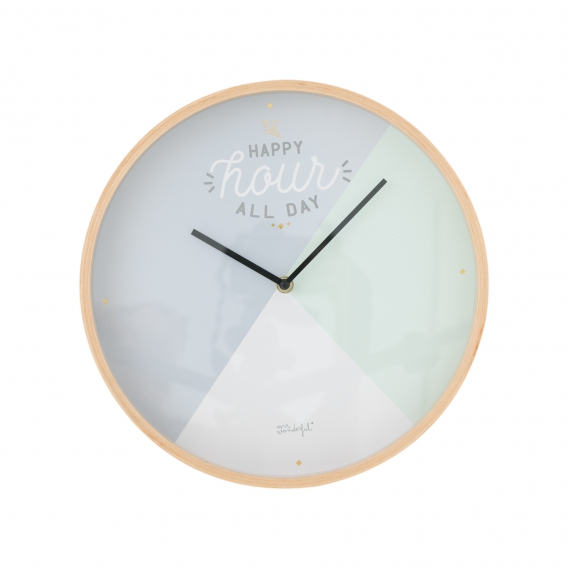 Horloge Pastel @bonjourbibiche