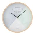 Horloge Pastel