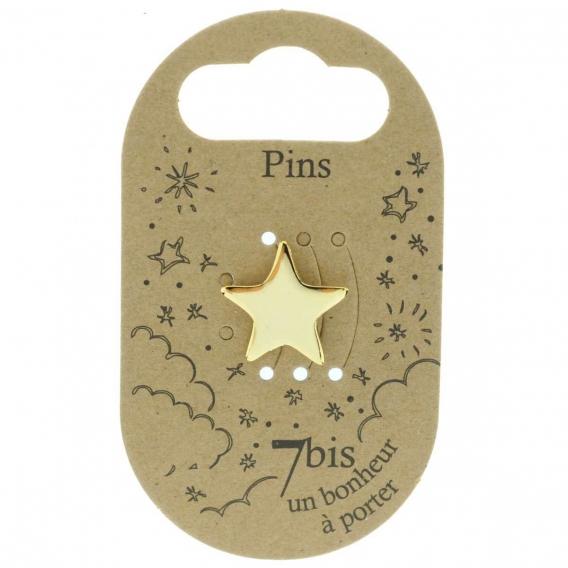 Pin's étoile @bonjourbibiche