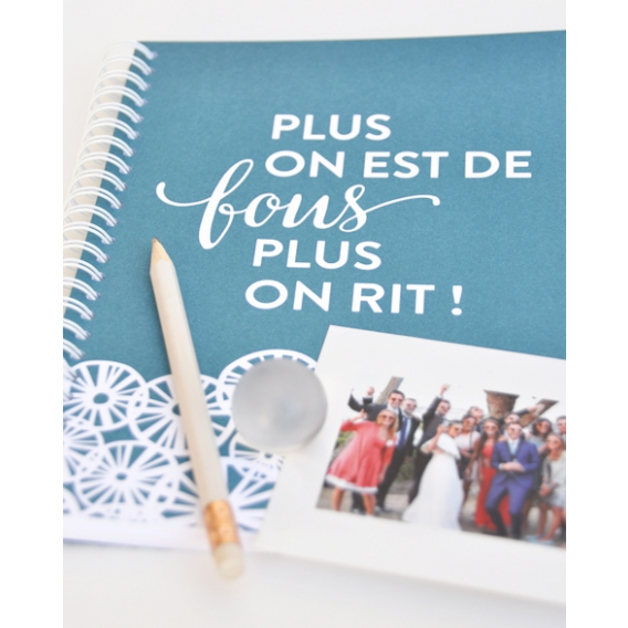 Carnet bleu Naissance @bonjourbibiche