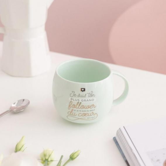 Tasse à café cadeau @bonjourbibiche