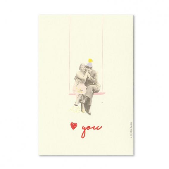 Carte I love you @bonjourbibiche