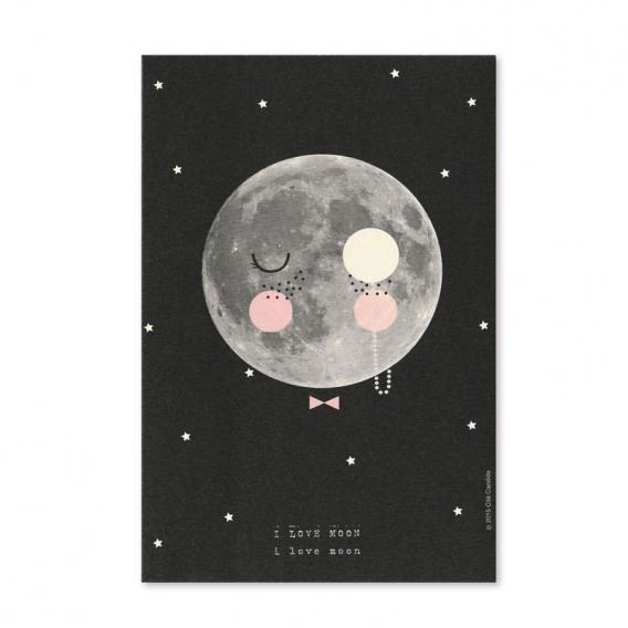 Carte Moon @bonjourbibiche