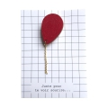 Broche Ballon rouge