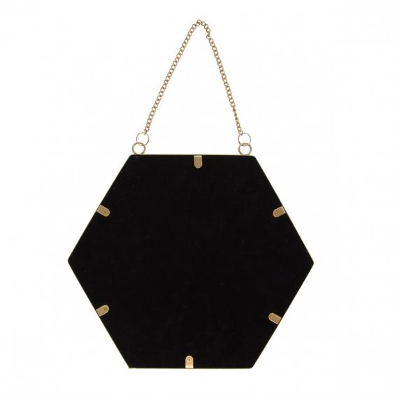 Miroir hexagonal @bonjourbibiche