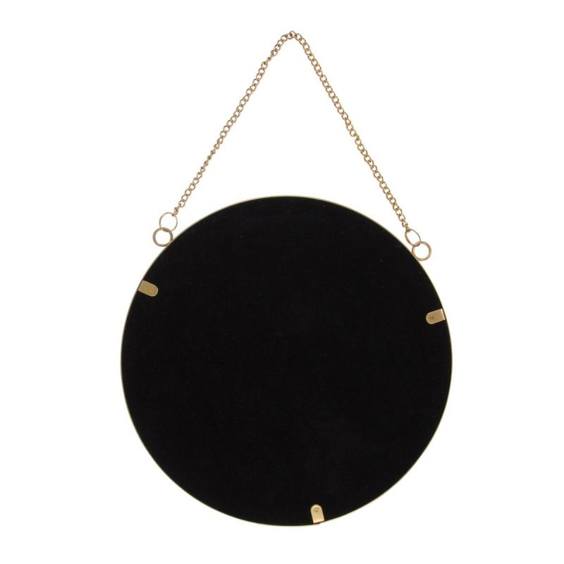 miroir rond suspendre sass belle france. Black Bedroom Furniture Sets. Home Design Ideas