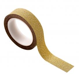 Masking tape doré pailleté @bonjourbibiche