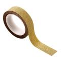 Masking tape doré pailleté