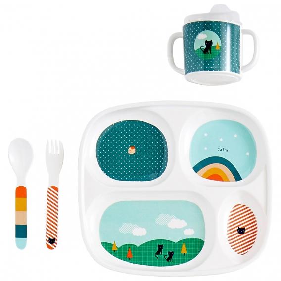 Vaisselle Chat pour enfant @bonjourbibiche