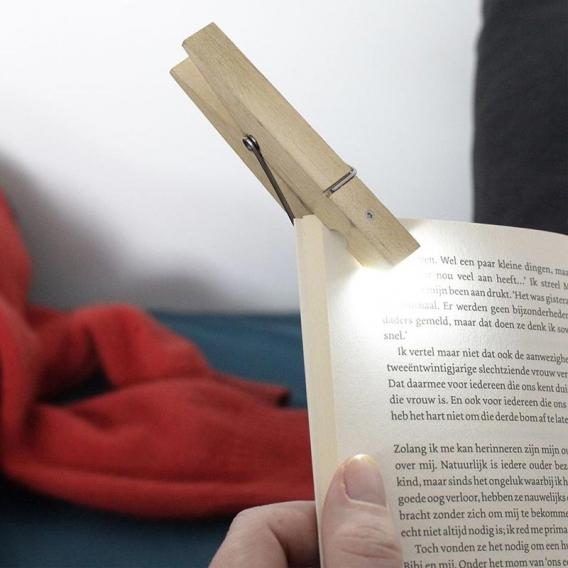 Lampe de lecture Pince à linge @bonjourbibiche