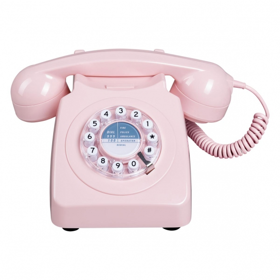 TELEPHONE FIXE COULEUR ROSE @bonjourbibiche