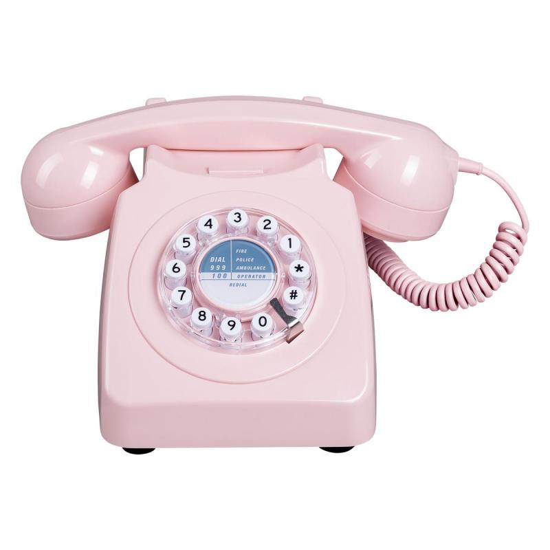 Telephone Fixe Rose Wild Wolf