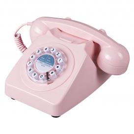 TELEPHONE VINTAGE ROSE @bonjourbibiche